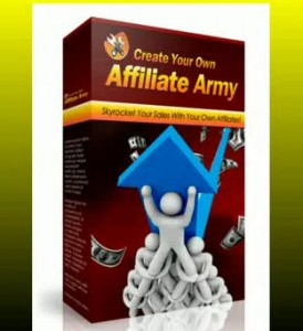 Recruit your own affiliate army