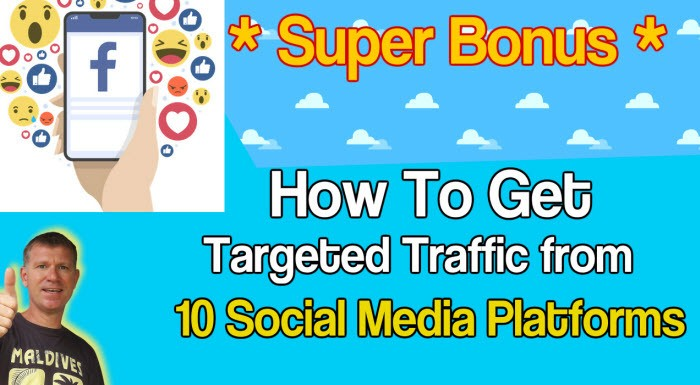 How To Get Targeted Traffic from 10 Social Media Platforms Stef Grandgi Custom Bonus