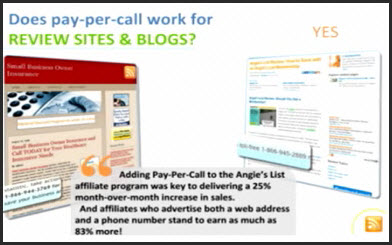 pay per call blogs