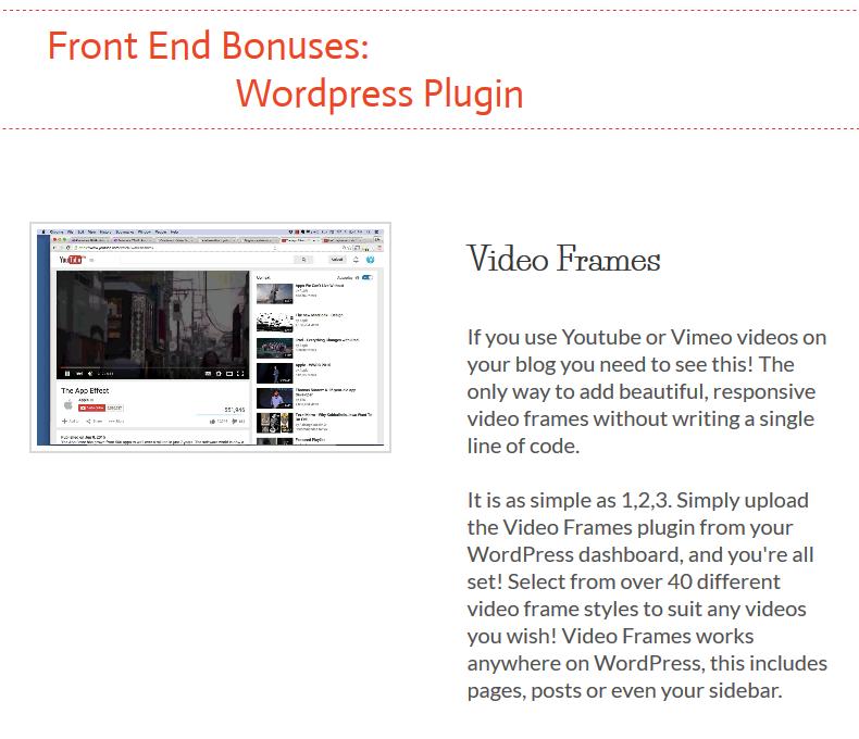 Video Frames Bonus
