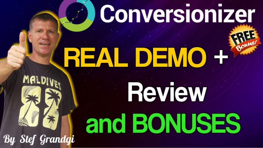 Conversionizer Demo Review and Bonuses StefGrandgi