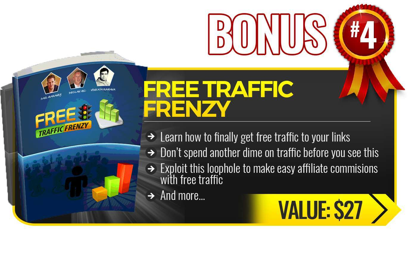 Free Traffic Frenzy bonus4