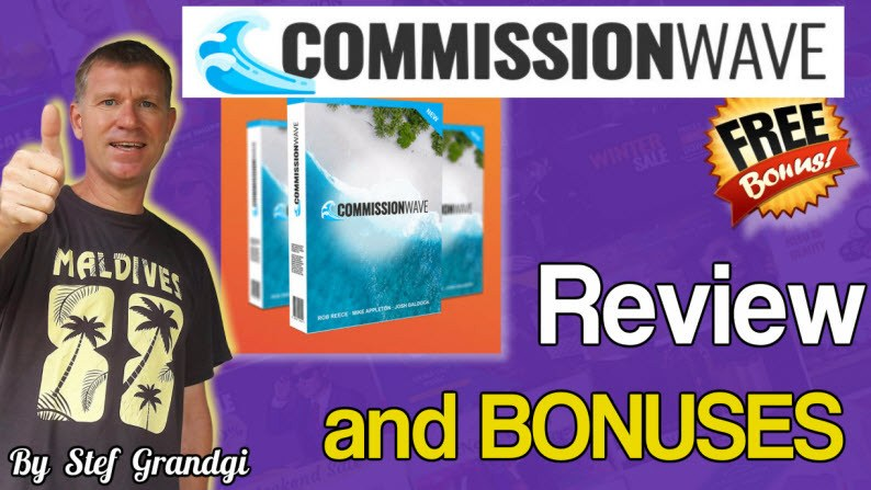 Commission Wave Review and bonuses Stef Grandgi
