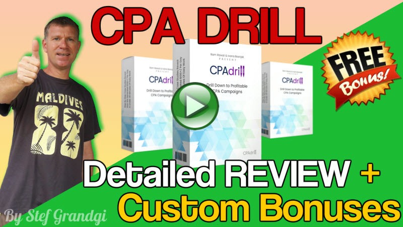 CPA Drill review and Bonus Stefgrandgi best bonuses