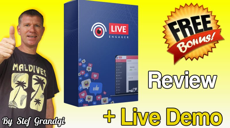 Live Engager Review and Bonus Stef Grandgi Review