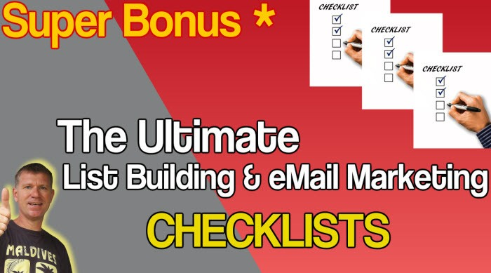 The Ultimate List Building & eMail Marketing Checklists
