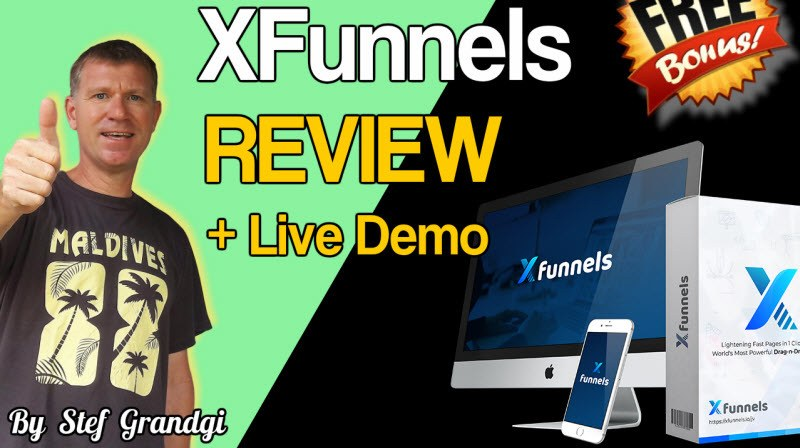 XFunnels review and Bonus Stef Grandgi full demo