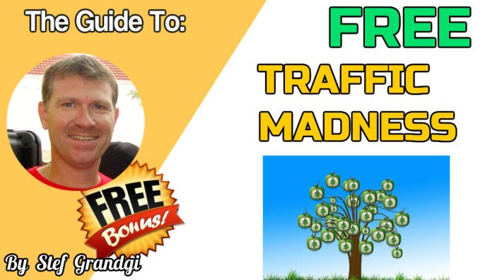 Free Traffic Frenzy Madness Stef Grandgi Bonuses