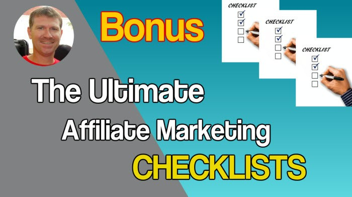 The Ultimate Affiliate Marketing Checklists Stef Grandgi Bonuses