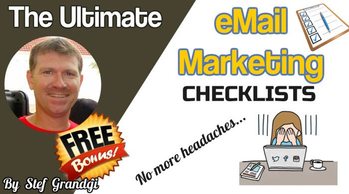 The Ultimate eMail Marketing Checklists Stef Grandgi1