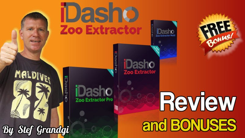 iDasho Review and Bonuses | The JVZoo Transactions Extractor