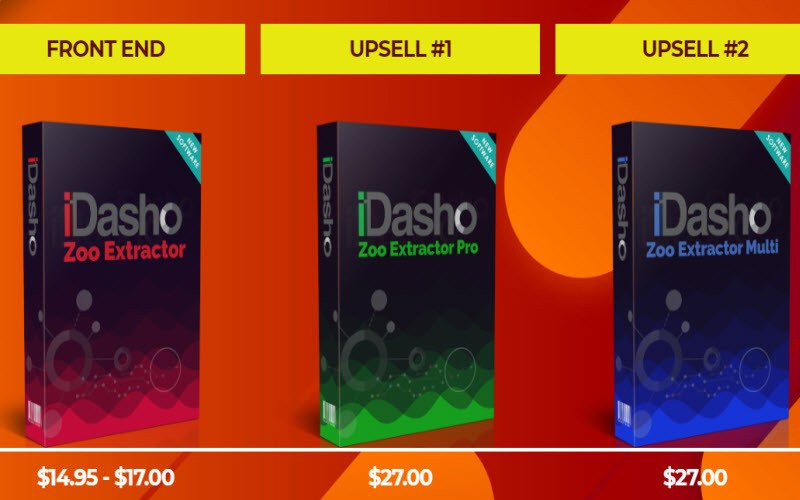 iDasho prices and upsells Stefgrandgi