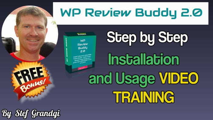 WP Review Buddy 2.0 Step by Step Training Stef Grandgi