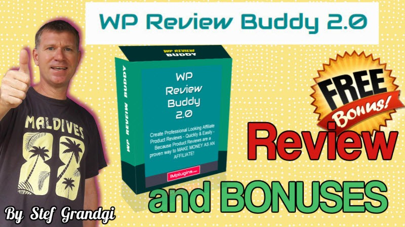 WP Review Buddy 2.0 review and bonuses Stef Grandgi