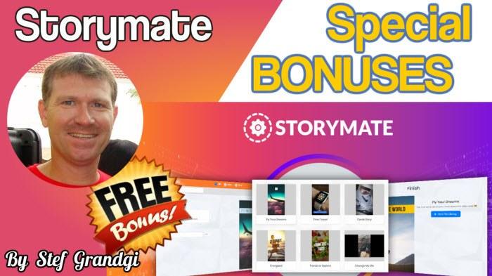 Storymate Custom Bonuses Stef Grandgi