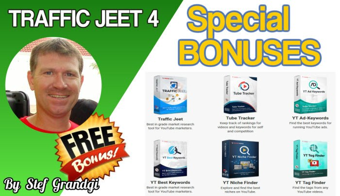 Traffic Jeet 4 Custom Bonuses Stef Grandgi