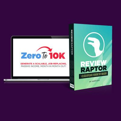 ZERO TO 10K and the Review Raptor Software