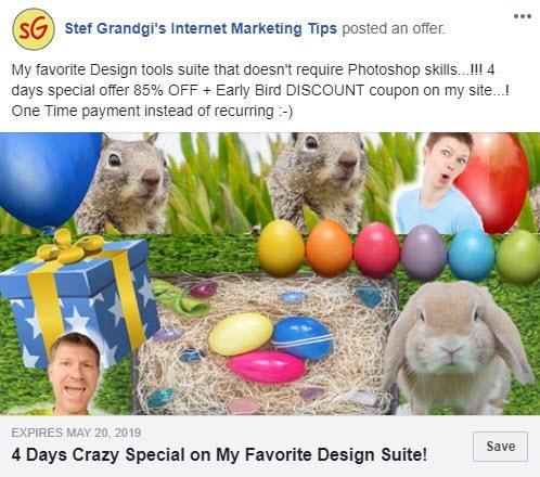 4 days zSuite Crazy special via StefGrandgi.com