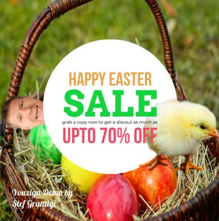 Easter Coupon Youzign Test Stef Grandgi