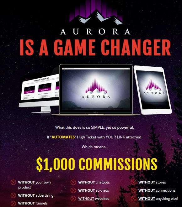 Aurora is a game changer