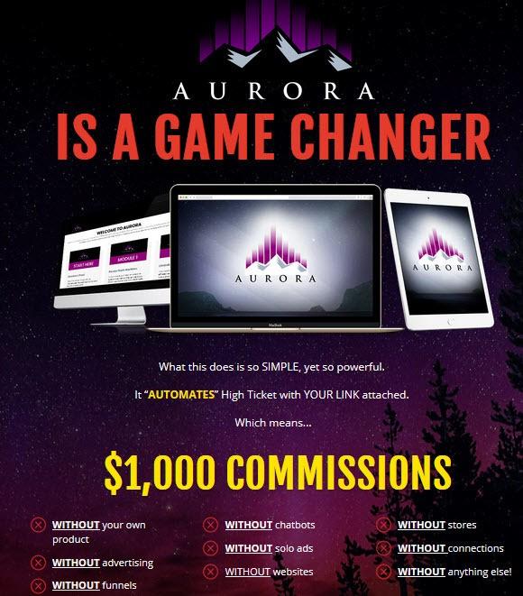 Aurora is a game changer