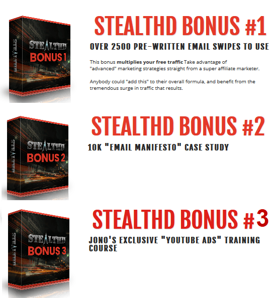 Stealth Vendor Bonuses via Stef Grandgi