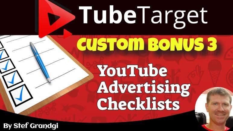 TubeTarget Review Custom Bonus3 Stef Grandgi
