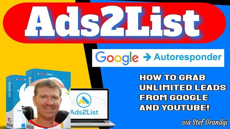 Ads2List Review and Bonuses Stef Grandgi