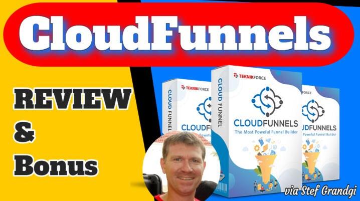 CloudFunnels Review & Bonuses Stef Grandgi1