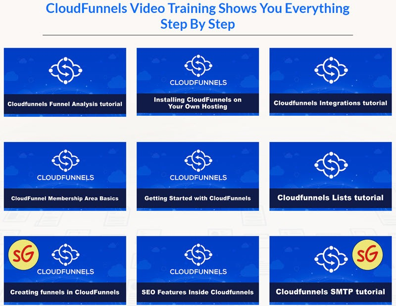 CloudFunnels training Stef Grandgi